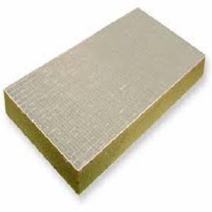 پشم سنگ تخته ای با روکش الومینیوم