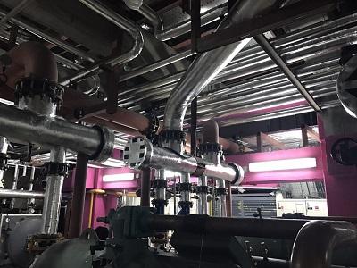 پروژه عایق کاری موتور خانه با عایق الاستومری